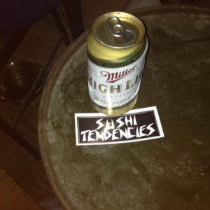 sushi tendencies sticker